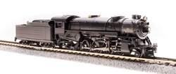 Broadway Limited Imports N 5964 USRA 2-8-2 Heavy Mikado Paragon 3 Sound/DC/DCC - Unlettered Black