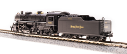 Broadway Limited Imports N 5975 USRA 2-8-2 Light Mikado Paragon 3 Sound/DC/DCC - Nickel Plate Road - NKP #627