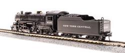 Broadway Limited Imports N 5977 USRA 2-8-2 Light Mikado Paragon 3 Sound/DC/DCC - New York Central - NYC #5109