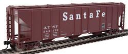 Walthers Mainline HO 910-7451 50' Pullman-Standard PS-2 CD 4427 3-Bay Covered Hopper Santa Fe ATSF #302170