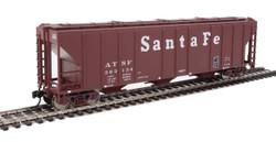 Walthers Mainline HO 910-7454 50' Pullman-Standard PS-2 CD 4427 3-Bay Covered Hopper Santa Fe ATSF #303134