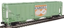 Walthers Mainline HO 910-7458 50' Pullman-Standard PS-2 CD 4427 3-Bay Covered Hopper Cargill Logo Panel TLDX #2518