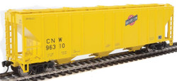 Walthers Mainline HO 910-7460 50' Pullman-Standard PS-2 CD 4427 3-Bay Covered Hopper Chicago & North Western CNW #96310