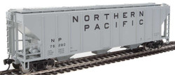 Walthers Mainline HO 910-7472 50' Pullman-Standard PS-2 CD 4427 3-Bay Covered Hopper Northern Pacific NP #76280