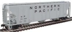 Walthers Mainline HO 910-7473 50' Pullman-Standard PS-2 CD 4427 3-Bay Covered Hopper Northern Pacific NP #76282
