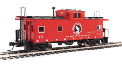 Walthers Mainline HO 910-8753 International Wide-Vision Caboose Great Northern GN #X74
