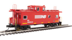 Walthers Mainline HO 910-8759 International Wide-Vision Caboose Norfolk Southern NS #555533