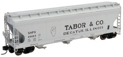Intermountain N 67081-06 ACF 4650 3 Bay Covered Hopper Tabor & Co SHPX #46722