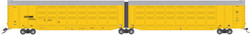 Atlas Master N 50005183 Thrall Articulated Auto Carrier Norfolk Southern NS #110102