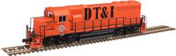 Atlas Master N 40004171 Gold Series EMD GP40 DCC/ESU LokSound Detroit Toledo and Ironton DT&I #405