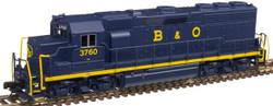Atlas Master N 40004172 Gold Series EMD GP40 DCC/ESU LokSound Baltimore and Ohio B&O #3743