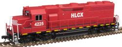 Atlas Master N 40004177 Gold Series EMD GP40 DCC/ESU LokSound Helm Financial Leasing Company HLCX 4225