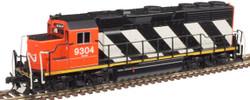 Atlas Master N 40004184 Gold Series EMD GP40 DCC/ESU LokSound Canadian National CN #9304