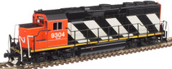 Atlas Master N 40004185 Gold Series EMD GP40 DCC/ESU LokSound Canadian National CN #9308