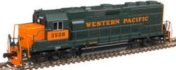 Atlas Master N 40004187 Gold Series EMD GP40 DCC/ESU LokSound Western Pacific WP #3528