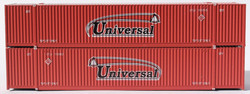 Jacksonville Terminal Company N 537014 53' High Cube Corrugated Side Containers UNIVERSAL 2-Pack