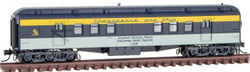 Micro Trains Line N 140 00 410 RPO Heavyweight Passenger Car Chesapeake and Ohio #109