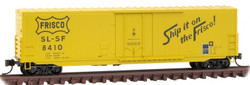 Micro Trains Line N 181 00 180 - 50' Box Car Frisco SL-SF #8410