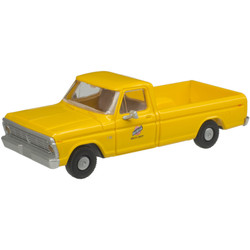 Atlas HO 30000126 1973 Ford F-100 Pickup Truck Chicago & North Western C&NW