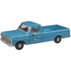 Atlas HO 30000132 1973 Ford F-100 Pickup Truck Rock Island RI