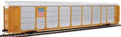 WalthersProto HO 920-101433 Thrall 89' Tri-Level Enclosed Auto Carrier Union Pacific Rack - Southern Pacific Flat SP #517371