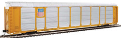WalthersProto HO 920-101436 Thrall 89' Tri-Level Enclosed Auto Carrier Union Pacific Rack - Southern Pacific Flat SP #517517