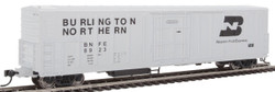 WalthersMainline HO 910-3930 57' Mechanical Reefer Burlington Northern 'BN' Logo BNFE #8923
