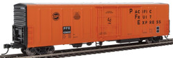 WalthersMainline HO 910-3935 57' Mechanical Reefer Pacific Fruit Express PFE #456609