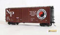 Tangent Scale Models HO 26061-09 Pullman-Standard 40' PS-1 Combination Door Boxcar Northern Pacific 'Original 12-59' NP #3202