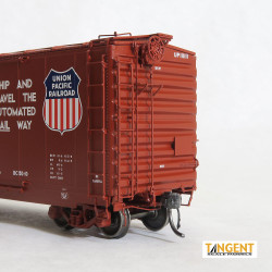 Tangent Scale Models HO 26062-02 Pullman-Standard 40' PS-1 Combination Door Boxcar Union Pacific 'BC-50-10 11-63+' UP #111117