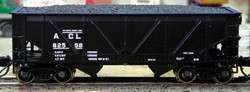 Bluford Shops N 64062 2-Bay Rebuilt War Emergency Hopper Atlantic Coast Line 2-Pack
