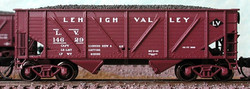 Bluford Shops N 63032 2-Bay War Emergency Composite Hopper Lehigh Valley LV 2-Pack