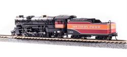 Broadway Limited Imports N 6230 USRA 4-6-2 Heavy Pacific Paragon 3 Sound/DC/DCC Southern Pacific 'Daylight Scheme' SP #2487