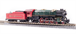 Broadway Limited Imports N 6232 USRA 4-6-2 Heavy Pacific Paragon 3 Sound/DC/DCC 'Merry Christmas' Engine #25