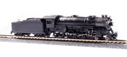 Broadway Limited Imports N 6233 USRA 4-6-2 Heavy Pacific Paragon 3 Sound/DC/DCC Unlettered