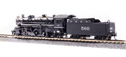 Broadway Limited Imports N 6244 USRA 4-6-2 Light Pacific Paragon 3 Sound/DC/DCC Gulf, Mobile and Ohio GM&O #560