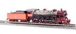 Broadway Limited Imports N 6252 USRA 4-6-2 Light Pacific Paragon 3 Sound/DC/DCC Milwaukee Road 'Chippewa Service' MILW #150