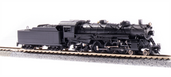 Broadway Limited Imports N 6255 USRA 4-6-2 Light Pacific Paragon 3 Sound/DC/DCC Unlettered