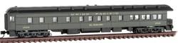 Micro Trains Line N 144 00 420 3-2 Heavyweight Observation Car Union Pacific 'El Dorado' UP #1536