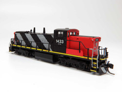 Rapido Trains Inc 70537 N Scale GMD-1 Locomotive DC/DCC/Sound Canadian National Stripes Scheme CN#1435