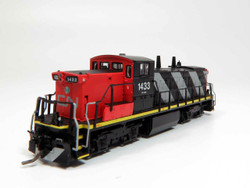 Rapido Trains Inc 70036 N Scale GMD-1 Locomotive DC/DCC Silent Canadian National Stripes Scheme CN#1434