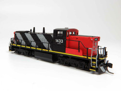 Rapido Trains Inc 70038 N Scale GMD-1 Locomotive DC/DCC Silent Canadian National Stripes Scheme CN#1437