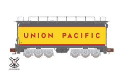 ScaleTrains Rivet Counter N SXT32610 Union Pacific 22C GTE Cylindrical Fuel Tender Un-Numbered