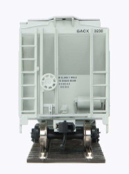 Walthers Mainline HO 910-7963 37' 2980 2-Bay Covered Hopper GATX - GACX #3257