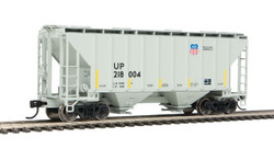 Walthers Mainline HO 910-7966 37' 2980 2-Bay Covered Hopper Union Pacific 'Building America' UP #218004