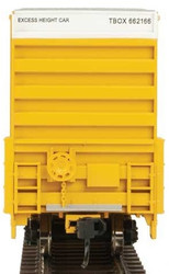 Walthers Mainline HO 910-3001 60' High Cube Plate F Box Car TTX TBOX #662166