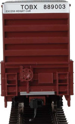 Walthers Mainline HO 910-3002 60' High Cube Plate F Box Car TTX TOBX #889003