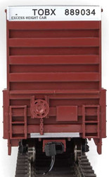 Walthers Mainline HO 910-3003 60' High Cube Plate F Box Car TTX TOBX #889034