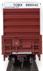 Walthers Mainline HO 910-3004 60' High Cube Plate F Box Car TTX TOBX #889042