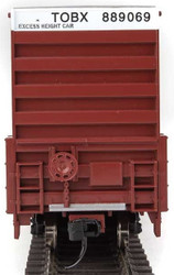Walthers Mainline HO 910-3005 60' High Cube Plate F Box Car TTX TOBX #889069
